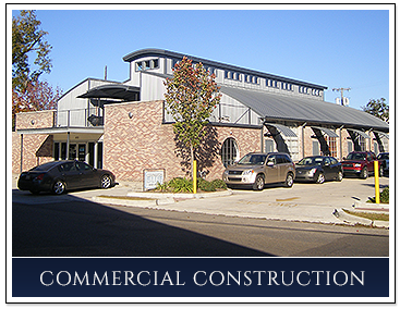 Completed Commercial Building